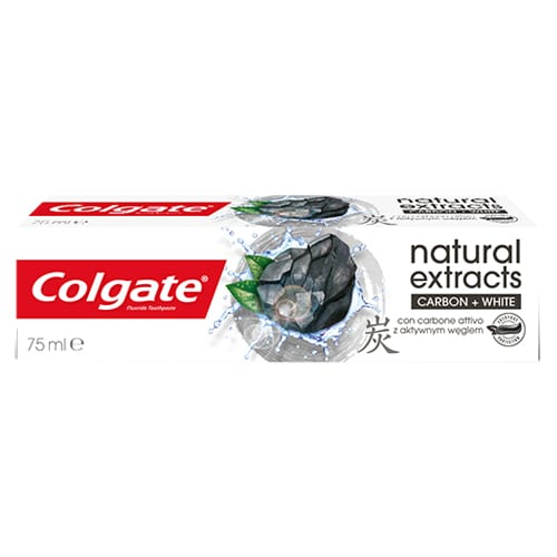 Colgate Natural Extracts Carbon+white